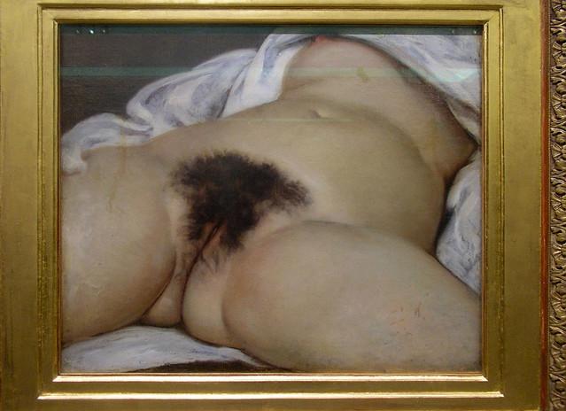 l'origine du monde (Gustave Courbet) - PARIS - 16 janvier 2010 - 1 di 4