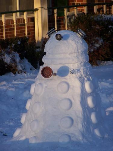 Dalek Snow