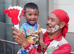 Happy Red Songkran at Ratchaprasong; April 14, 2010