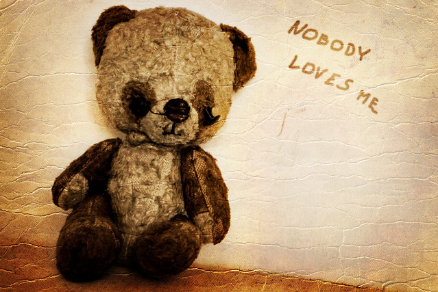 The Old teddy nobody loves