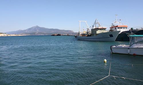 Samos - Pythagoreio Harbour View of Turkey 2009