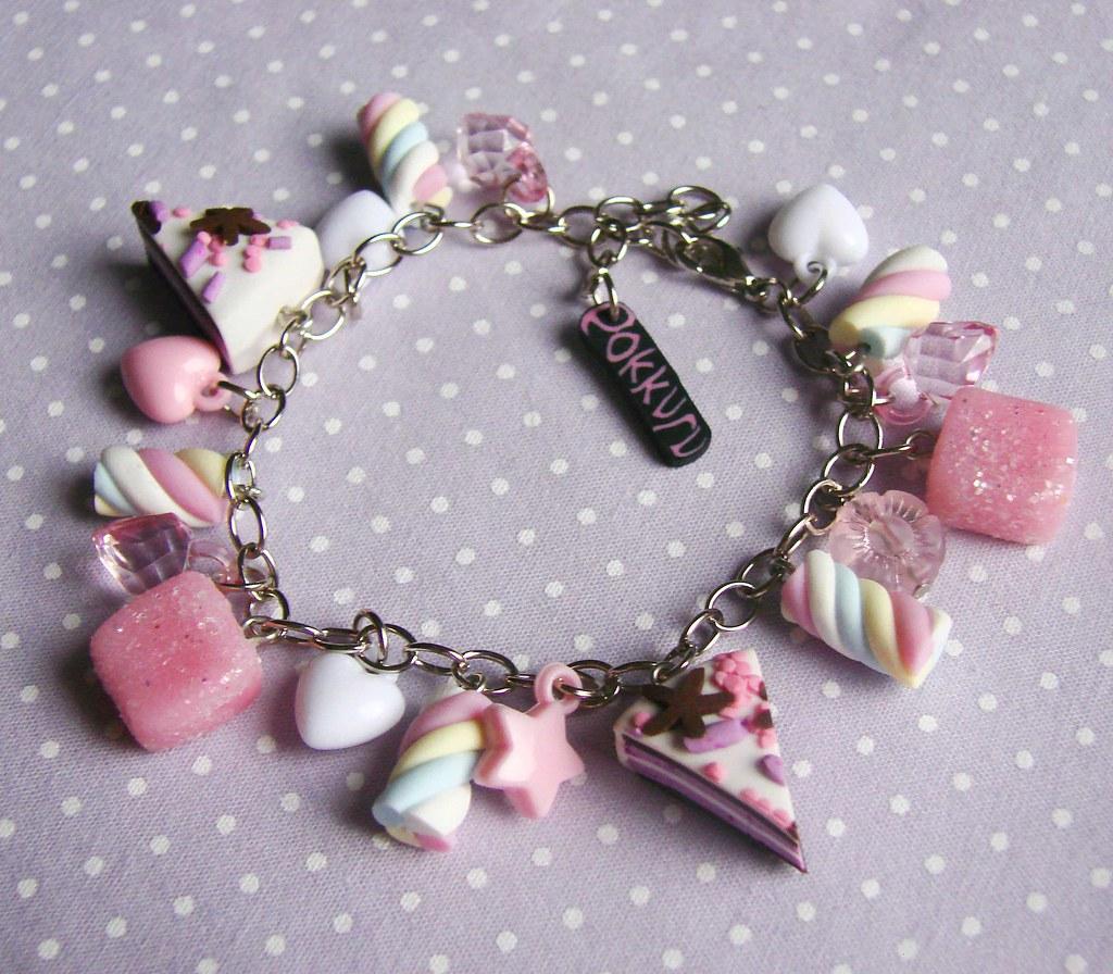 the rainbow marshmallow charm bracelet a