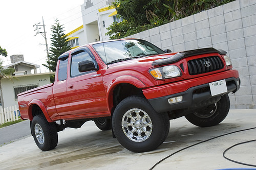 TOYOTA TACOMA RED
