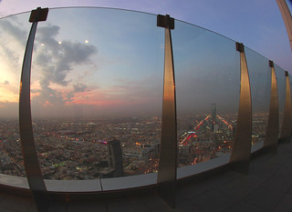 Riyadh Sunset Fisheye