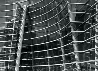 Christchurch Gallery Facade Intersection and Fold