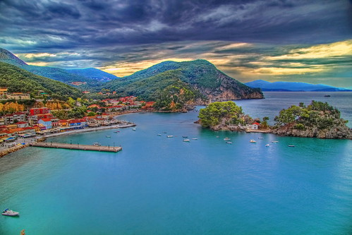 The port of Parga
