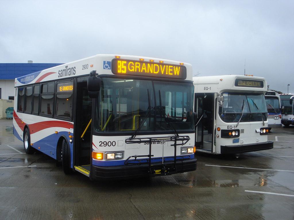 f5a8635eaf8 samTrans 2900 85 GRAND VIEW & samTrans EQ-1 Ex samTrans 439 SPECIAL 2010  NorCal