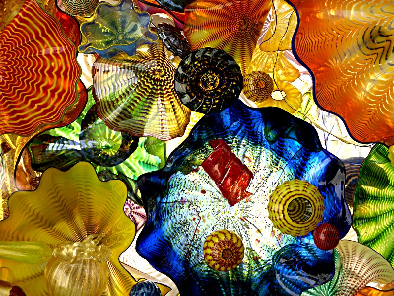 Clusterfark - Chihuly Glass