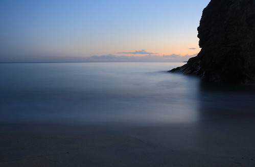 Carlyon Bay/Crinnis, Cornwall. The Stack.