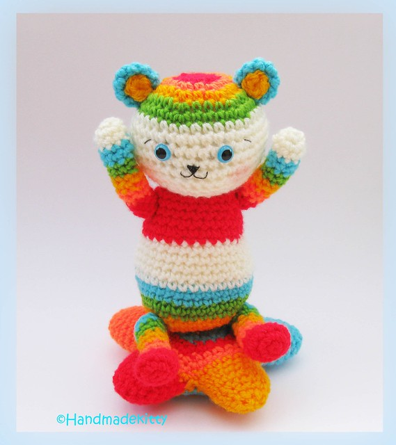 Amigurumi Star Crochet Pattern : Flickriver: Photoset Rainbow Bear Star Amigurumi Crochet ...