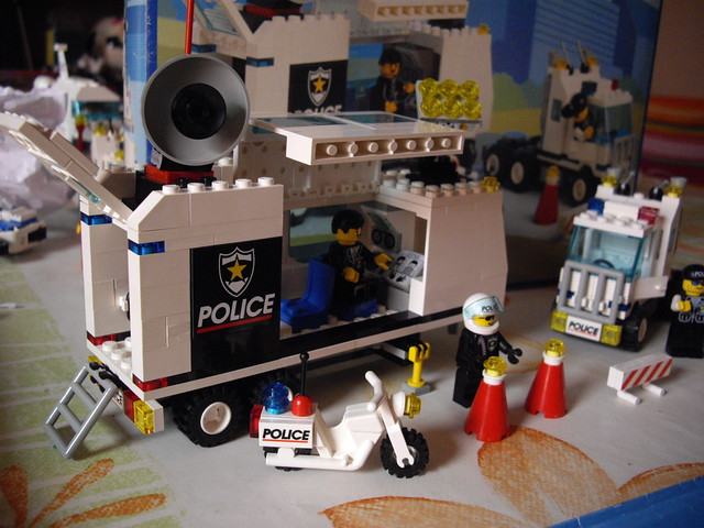 Lego 6348 camion de police flickr photo sharing - Lego camion de police ...