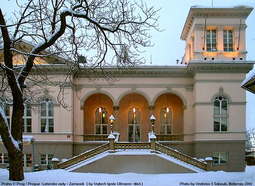 Praha 7/ Prag/ Prague-Letenske sady- Restaurant Zamecek (1863)