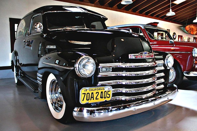 1951 chevy panel truck flickr photo sharing