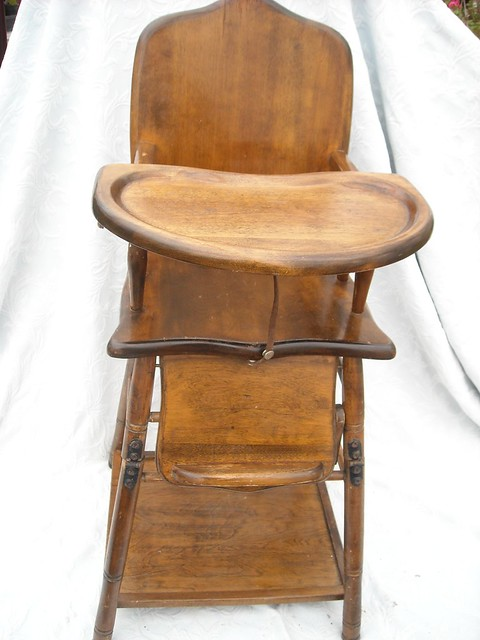 antique convertable high chair 115 flickr photo sharing