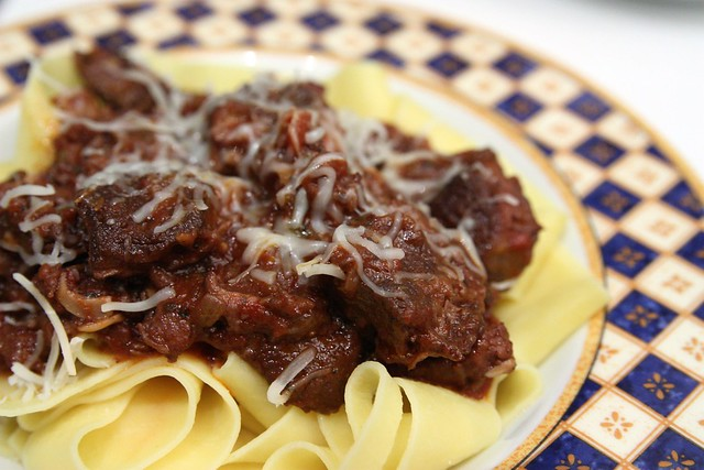 Beef Shank Ragu on Pappardelle | Flickr - Photo Sharing!