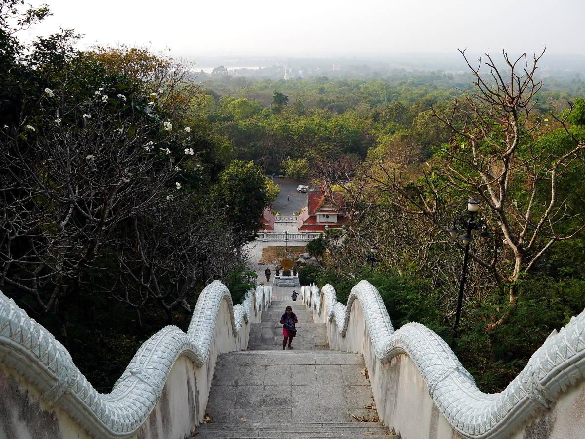 View overlooking Wat Yansangwararam