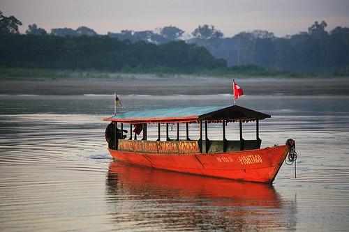 peru southamerica river boat amazon rainforest jungle amazonia madrededios peruvianamazon
