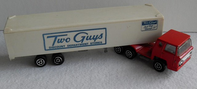 Two Guys Department Store Vintage Toy Truck 1960s