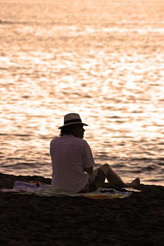 sol sunrise contraluz mar playa puestadesol horizonte concursodefotografíasientotenerife