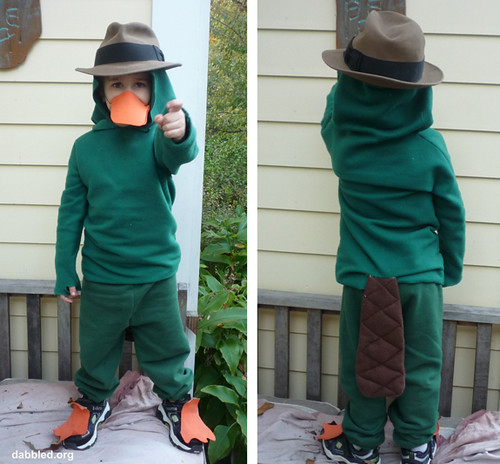 perry the platypus agent p halloween costume flickr