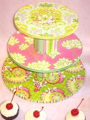 Pop Garden Cupcake Tower