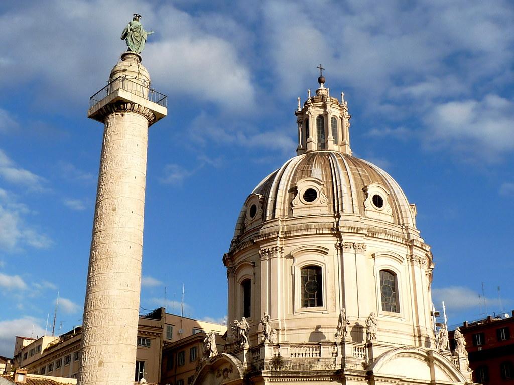 Chiesa del Santissimo Nome di Maria al Foro Traiano e Colonna Traiana, Roma