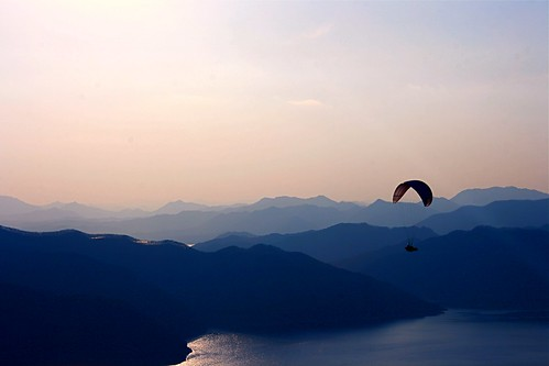sky mountains beautiful landscape flying peace view korea paragliding breathtaking daegu supershot breathtakinggoldaward breathtakinghalloffame