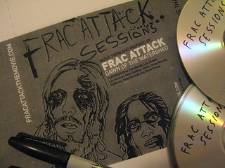frac attack sessions CD