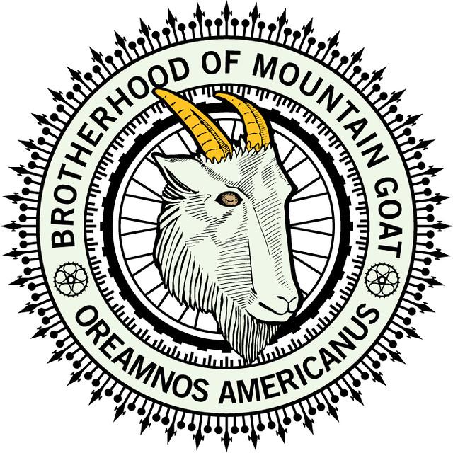 Mountain Goat Bicycles - Brotherhood Logo | Flickr - Photo ...