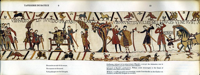 The bayeux tapestry la tapisserie de bayeux flickr - Qu est ce que la tapisserie de bayeux ...