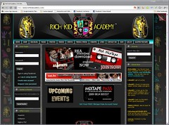 Rich Kid Academy (Drupal CMS) Website