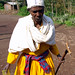 Monja en Lalibela (Etiopía)