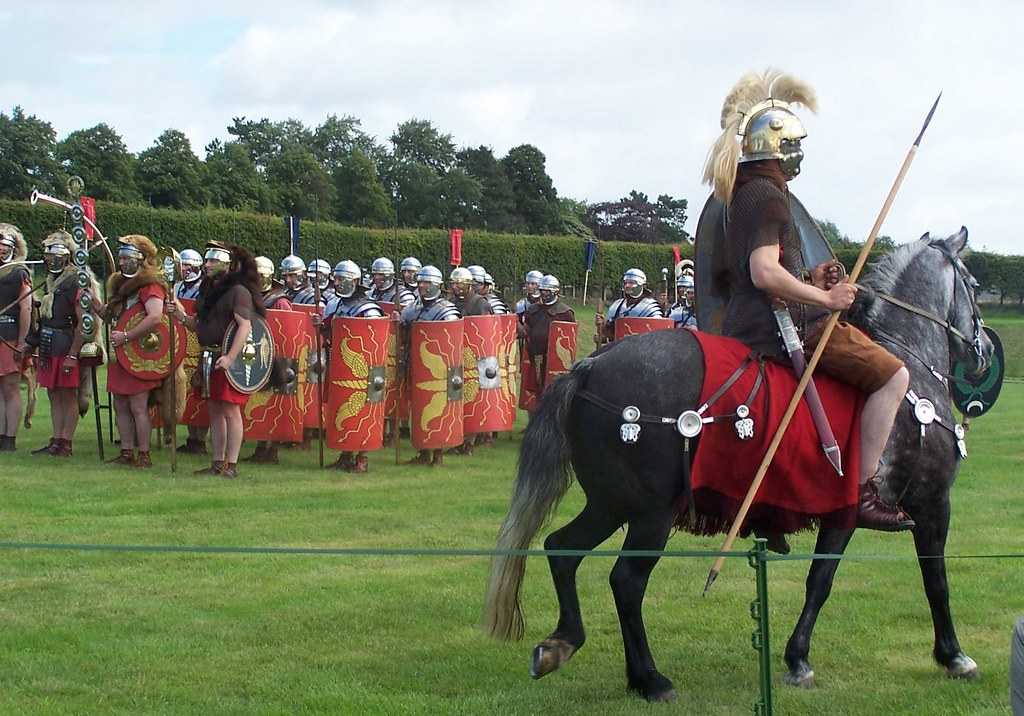 Romans at Corbridge