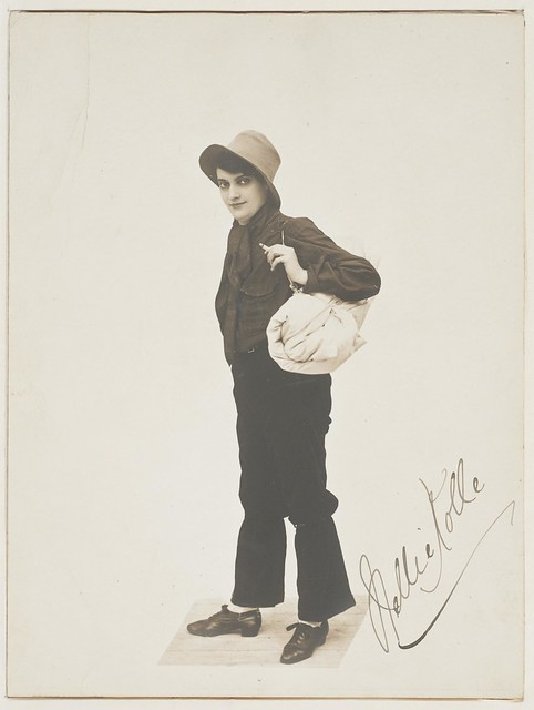 Nellie Kolle as a Swaggie, before 1924 / photographer unknown