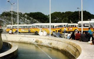 Malta Buses, Floriana, Valletta, April 1996