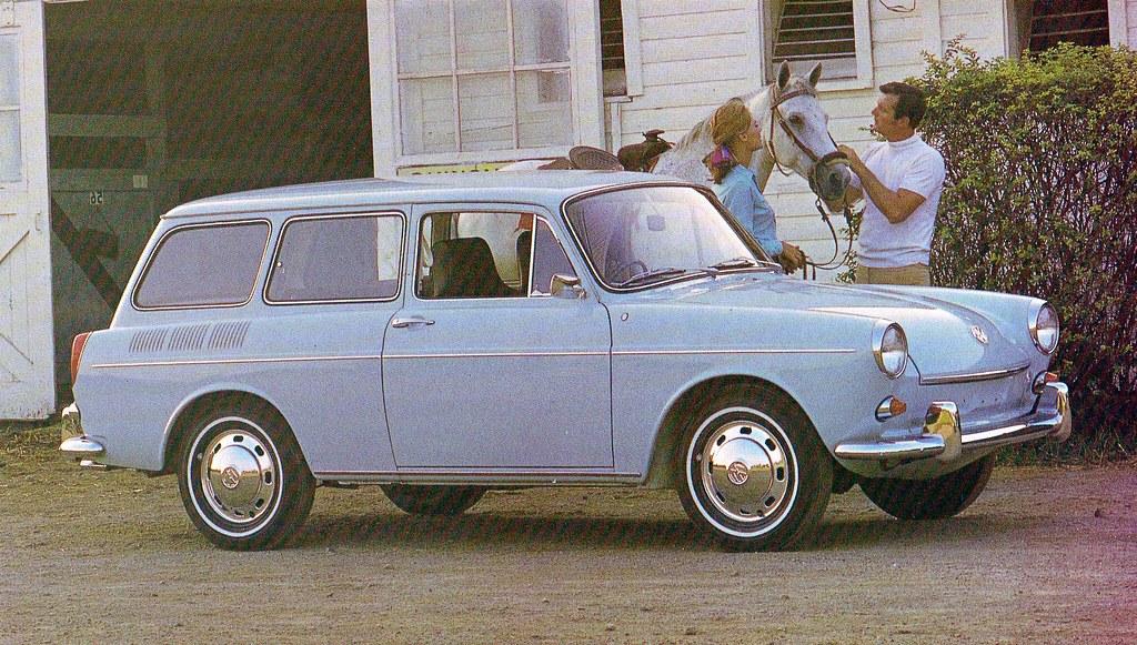 1969 VW Squareback | Green Bean Bunwich | Flickr