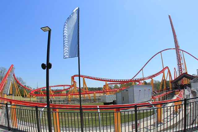 Intimidator 305 front track layout | Flickr - Photo Sharing!