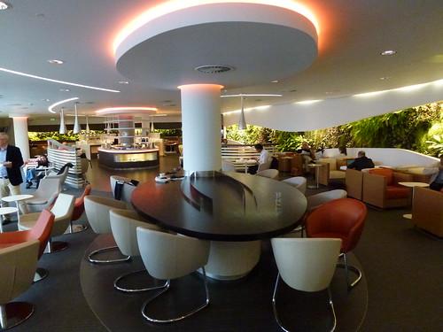 Sky Team Lounge at London Heathrow Terminal 4