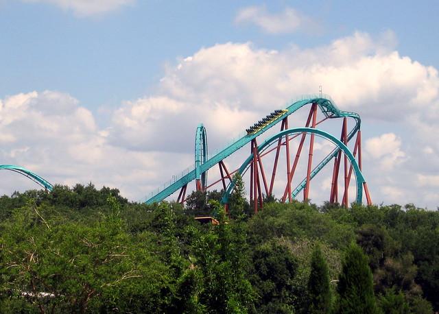 Busch Gardens Skyride Kumba Roller Coaster Flickr