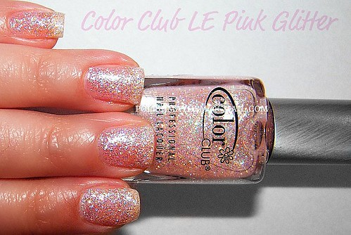 Color Club Limited Edition Pink Glitter