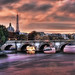 Eiffel Tower Sunset from across the Seine