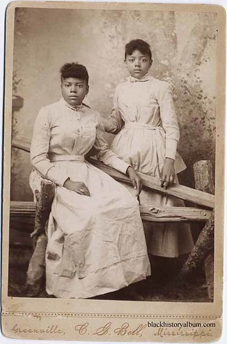 Sisters, 1875 by Black History Album
