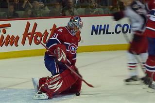Hockey Carey Price Montreal Canadiens Montreal 24 Nov 2009