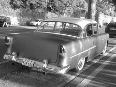 automobile, automotive exterior, vehicle, automotive design, full-size car, compact car, antique car, chevrolet bel air, sedan, vintage car, land vehicle, luxury vehicle, motor vehicle, classic,