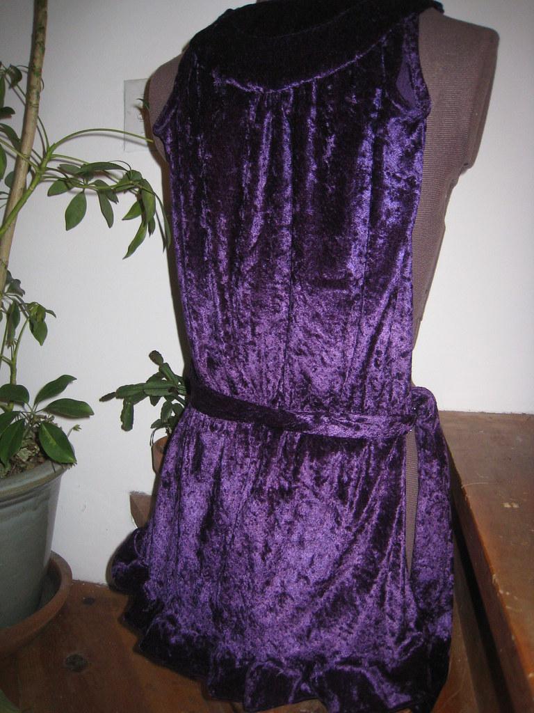 Ruffle - finished dress