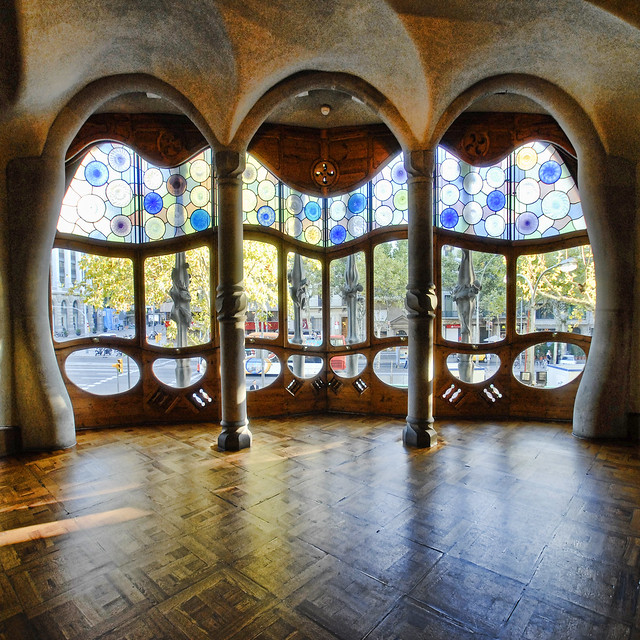 Spain - Barcelona - Casa Batllo Interior - sq v2 | Flickr ...