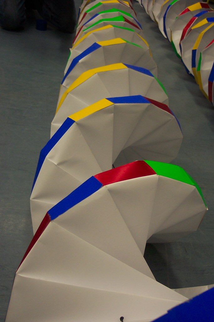how to make dna model with paper