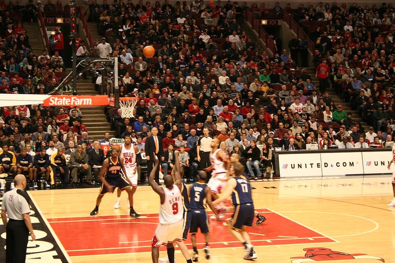 Bulls vs Pacers December 2009