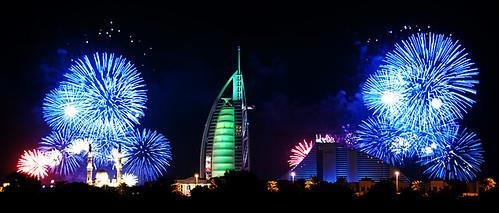 Dubai fireworks #1