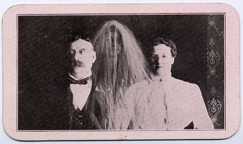Mr. and Mrs. A. Normann, Spirit Portrait Artists Advertising Card, Front